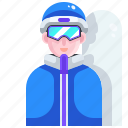 snowboarder, winter, sport, sports, snowboarding, avatar, snowboard icon
