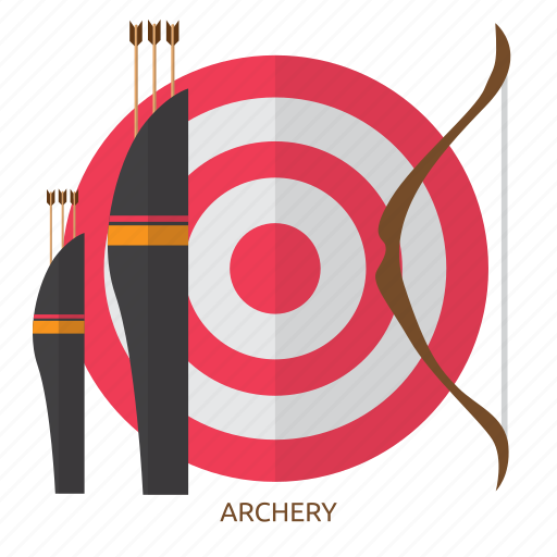 accuracy, archery, arrow, awards, competition, sport, target icon