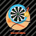 archery, target, bow and arrow, bow, arrow, sport