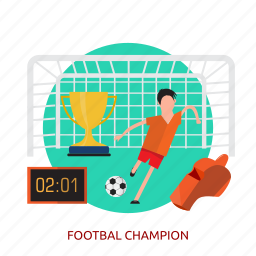 awards, ball, champion, footbal champion, football, sport, team icon