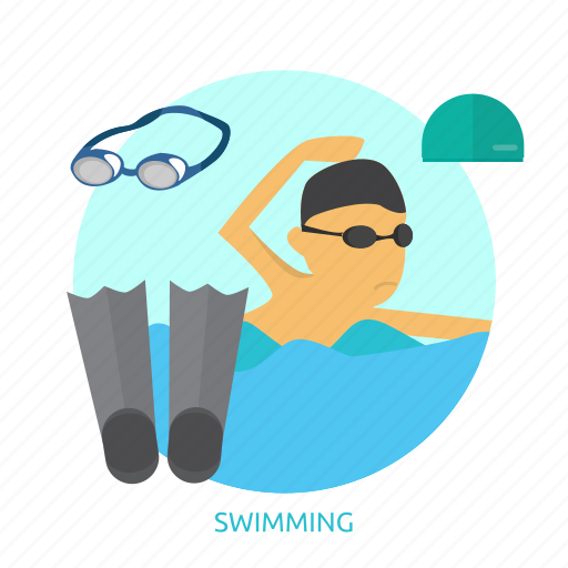 athlete, awards, competition, pool, sport, swimming, water icon