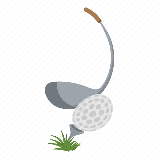 ball, club, course, fitness, golf, sports, tee icon