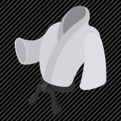 aikido, belt, clothes, fight, judo, karate, kimono icon