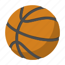 ball, basketball, circle, competition, equipment, orange, sphere