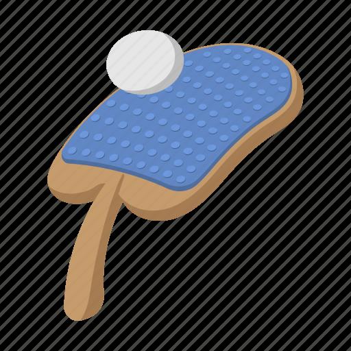 ball, bat, paddle, ping, pong, table, tennis icon