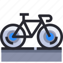 bicycle, exercise, hobby, sport, sport element icon