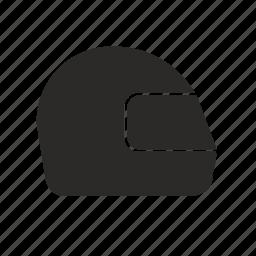 helmet, race, rider icon