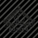 badge, boxing, emblem, fighting, gloves, sport