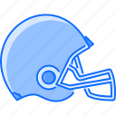 equipment, game, helmet, rugby, sport, training icon