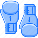 box, boxing, equipment, glove, sport, training icon