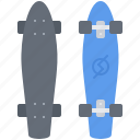 equipment, game, longboard, sport, training icon