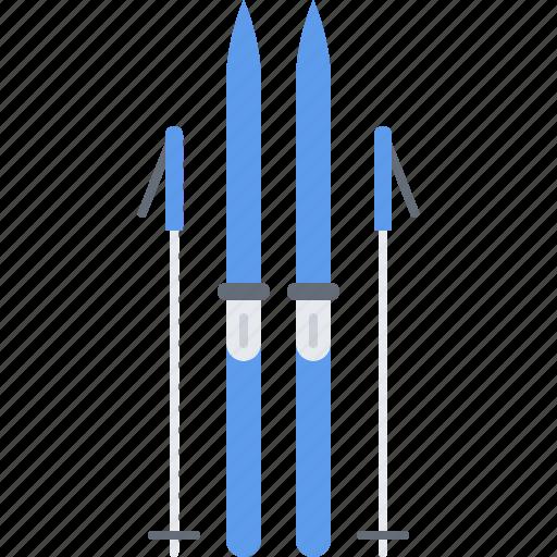 equipment, game, skiing, sport, training icon