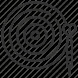 board, dart, game, sport, target icon