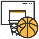 ball, basketball, equipment, sport icon