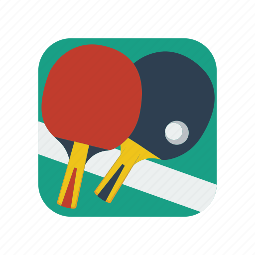 ping, ping-pong, pong, racket, sport, table, tennis icon