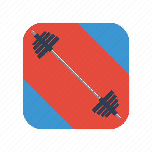 dumbbell, equipment, fitness, gym, health, lifestyle, sport icon