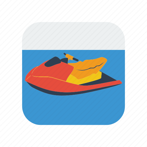 boat, extreme, jet, jetski, motor, ski, sport icon