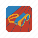 diving, glasses, mask, scuba, snorkel, snorkeling, underwater icon