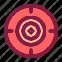 look, sniper, target, zoom