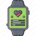 fitness, gym, sport, training, watch, wristwatch icon
