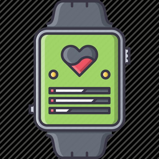 fitness, gym, sport, training, watch, wristwatch icon