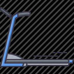 fitness, gym, run, sport, training, treadmill icon