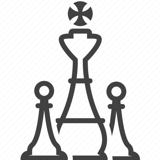 chess, chessmen, pieces, strategy icon