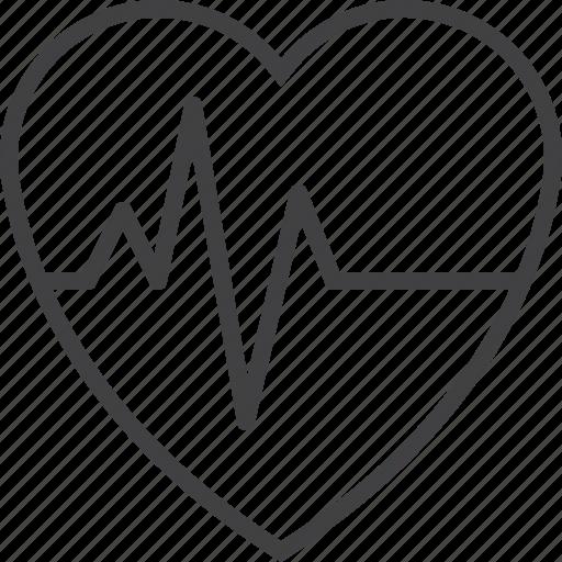 beat, cardio, heart, pulse icon