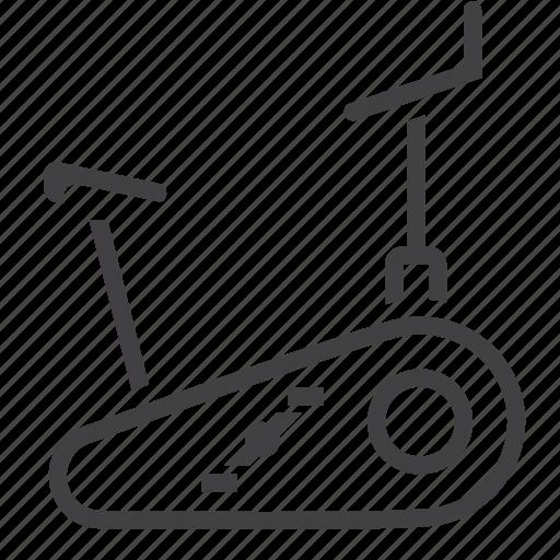 bike, exercise, fitness, gym, stationary icon
