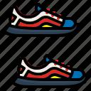 foot, footwear, shoe, shoes, sneaker icon