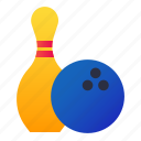 bowling, game, pin, skittle icon