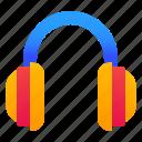 headphones, headset, listening, music