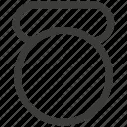 energy, exercise, kettlebell, power, sport, training icon