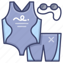 suit, swimming, swimsuit icon