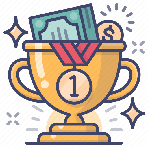Bonus, champion, money, prize icon - Download on Iconfinder