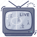live, game, television, sports