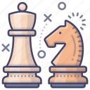 chess, figure, game, strategy icon