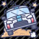 car, racing, rally, vehicle icon