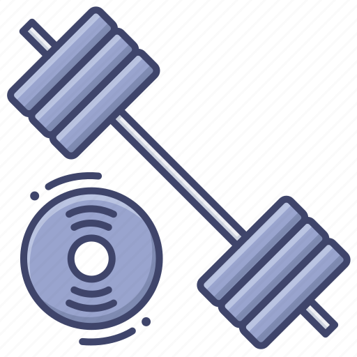 barbell, lift, sport, weight icon