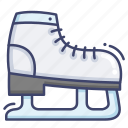 ice, skate, skating icon
