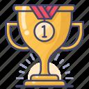 achievement, award, champion, olympics icon