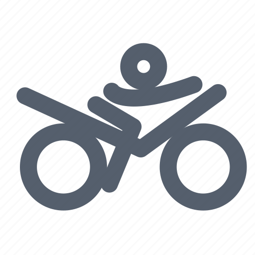 Bike, player, race, sport icon - Download on Iconfinder