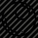 billiards, cue, game, sphere icon