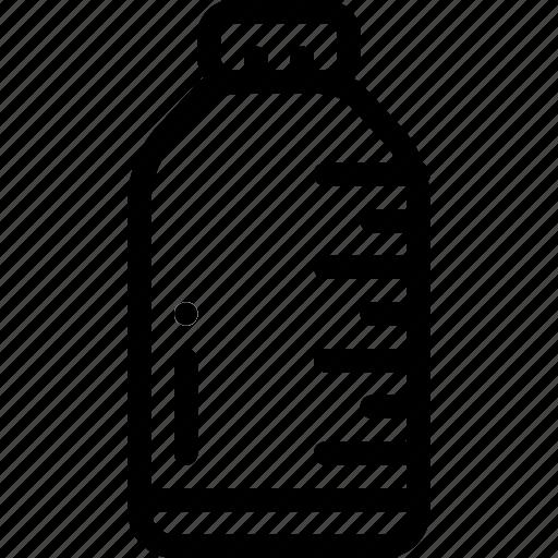 bottle, dose, health, medicine, water icon