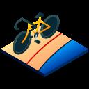 bicycle, bike, cycling, isometric, mountain bike, racing, sport icon