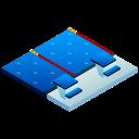 isometric, sport, swim, swimming, swimming pool, water sport icon