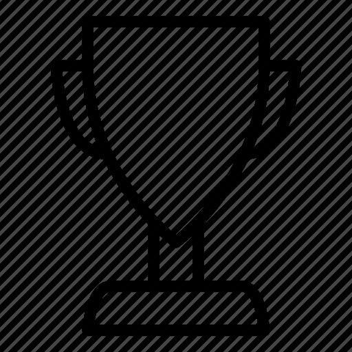 line, sport, trophy, winner icon