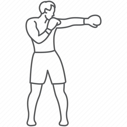 Boxer, boxing, fighter, man, sport, strong, sports icon - Download on Iconfinder