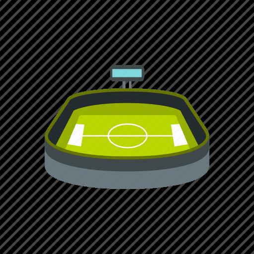 architecture, building, field, football, soccer, sport, stadium icon