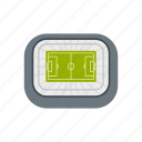 building, football, soccer, sport, stadium, top, view icon